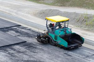 his is a picture of an asphalt driveway installation service.